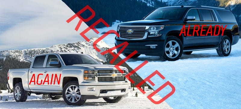 GM To Start Dealing With New Truck And SUV Recalls Next Month