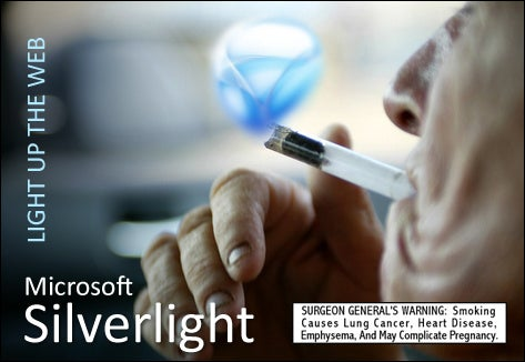 Silverlight Cracks Up The Web