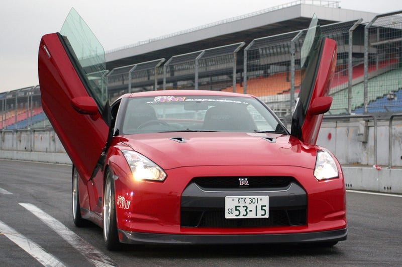 LSD Lambo Doors On Nissan GT-R Turn It Into Gawdzillawful