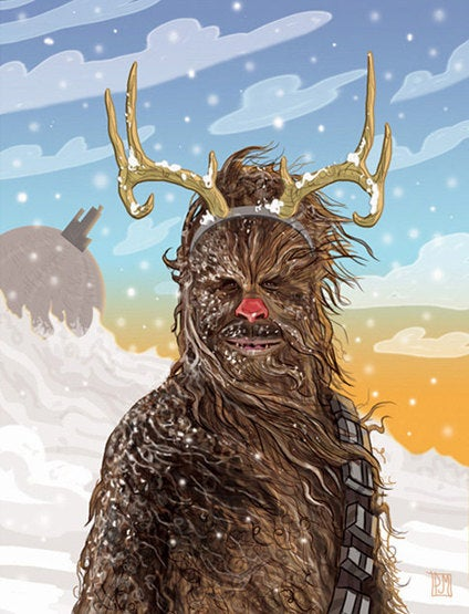 Salacious Crumb dons his ugliest sweater for the Star Wars holiday cards