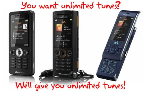 Sony Ericsson Planning to Offer Unlimited Music Service