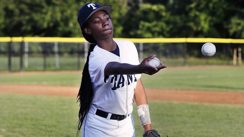Kickass Girl Pitches Shutout In Little League World Series