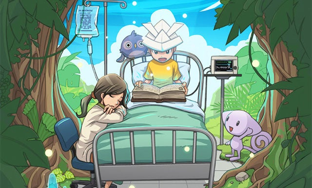 Fantasy Hospital Game With Sick Kids In Danger Of Ending In Tears