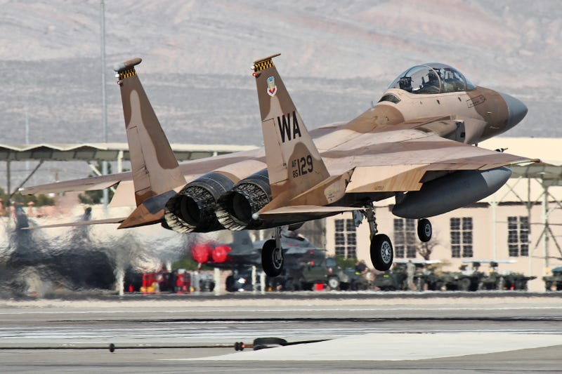 USAFs Dubious Priorities Result In Axing Of F15 Aggressor Squad