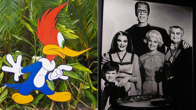 Today's Things Hollywood Is Bringing Back: Woody Woodpecker, The Munsters