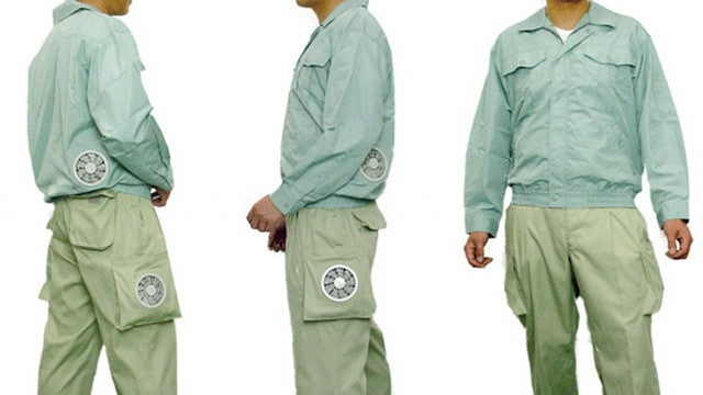 Air-Conditioned Pants May be the Most Over-Engineered Garment, Ever