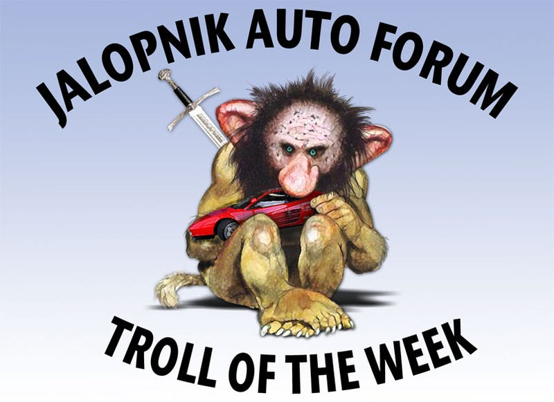 "Auto Forum Troll Of The Week: ""So This Idiot Got Schooled Today"""