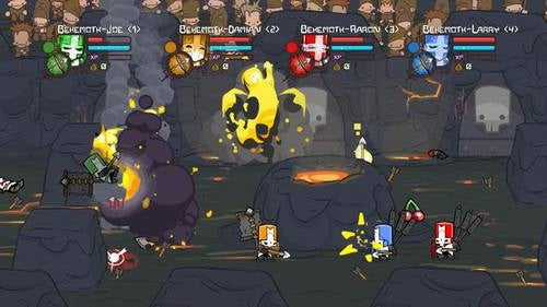 Castle Crashers Arena Screengrabs