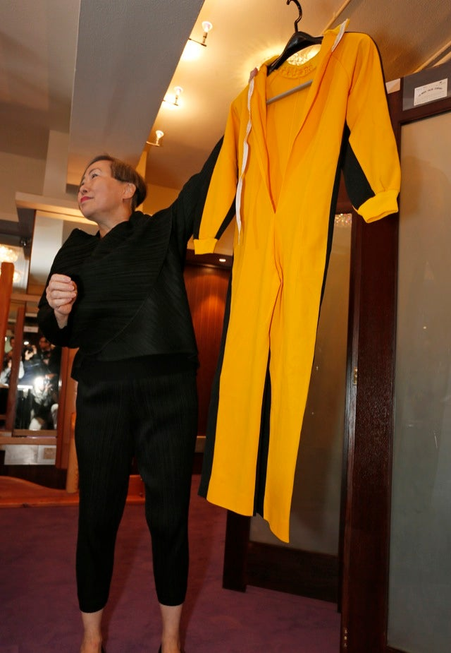 Got $40,000? Buy Bruce Lee's Shrunken Yellow Jump Suit