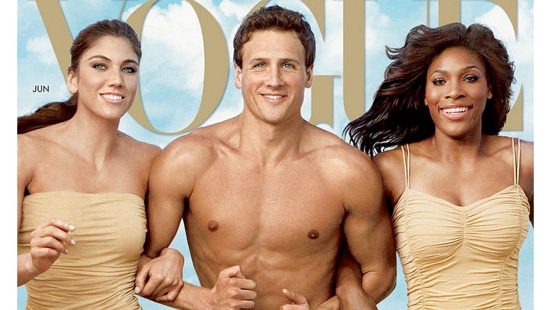 Nobody Bought Ryan Lochte's Issue of Vogue