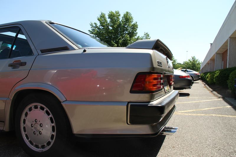 Oh, I saw a 86' 190e 16v in the Flesh today.
