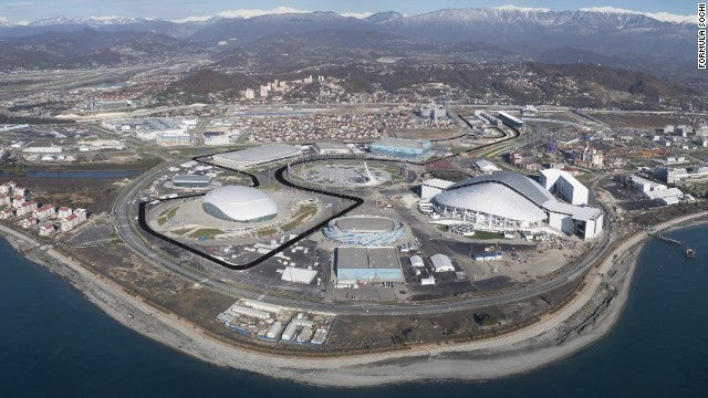 Russia's First Formula 1 GP Circuit Is Under Preparation In Sochi...