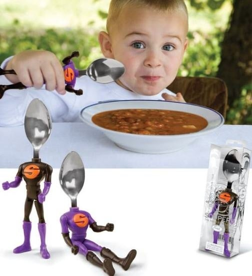 Souper! Action Figure Spoons Make Being All Growed Up Regrettable