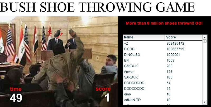Free Download Program Throw Bush With Shoe Game