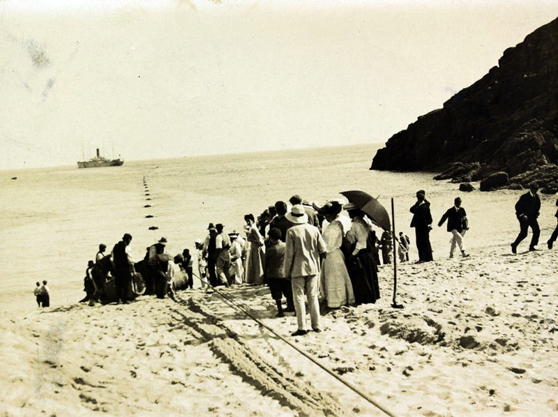 How Were Undersea Cables Laid Back in Ye Olde Days?