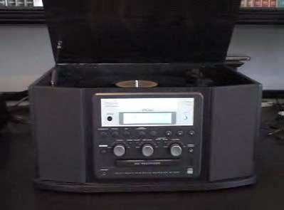 Convert Vinyl to CD With the Teac GF-350