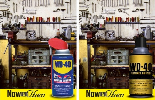 WD-40 Goes Retro