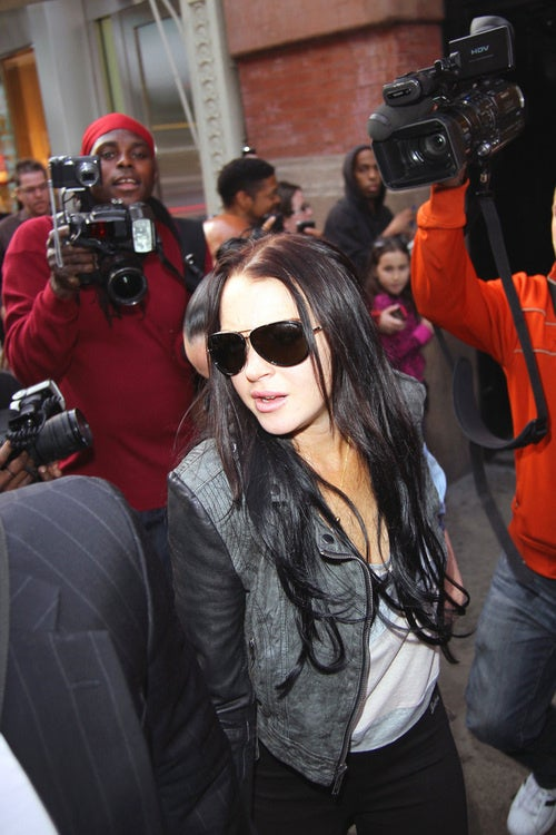 Happy 'We Can Arrest Lindsay Lohan, Now' Day