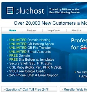Five Best Web Hosting Companies