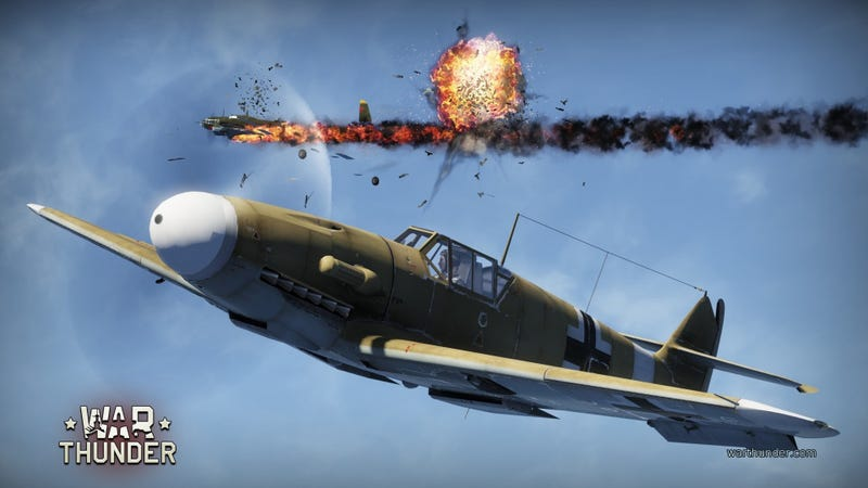 Off Topic : For the WW2 planes and gaming fans out there - War Thunder.