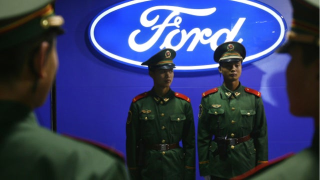 The Chinese Are Losing Their Minds For Fords