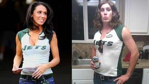 If The Whole Favre-Sterger Costume Thing Was A Contest, Chris From Austin Won (NSFW)
