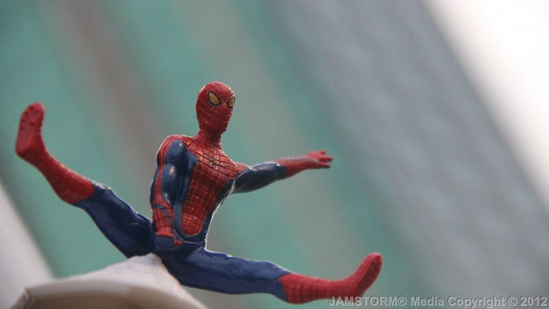 A Shockingly Inappropriate Amazing Spider-Man Tie-In Toy