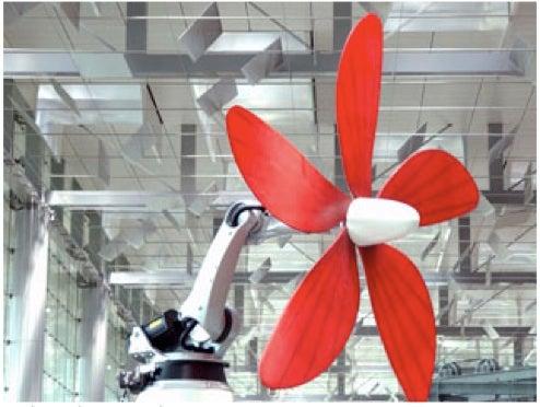 Daisy, Robo Daisy, Spin Your Sculptural Propeller, Do