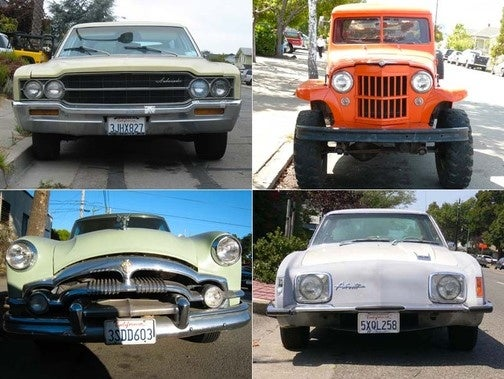 Celebrating 450 Old Vehicles Down On The Alameda Street: The Non-Big 3 American Machines