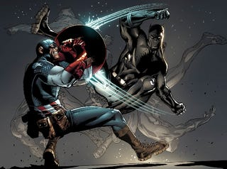 way for Black Panther and Ultimate Black Panther