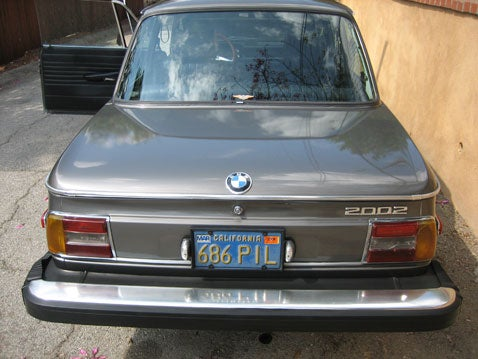 Look What Parked In Front Of My House: 1976 BMW 2002