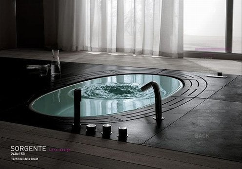 Teuco Sorgente Bathtub Is a Bathroom Accident Waiting To Happen