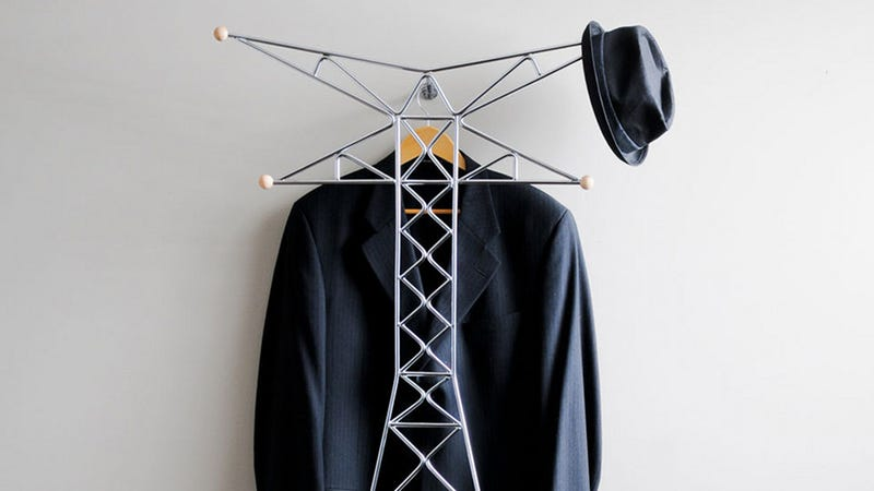 The Transmission Tower Coat Rack Will Electrocute Your Eyes