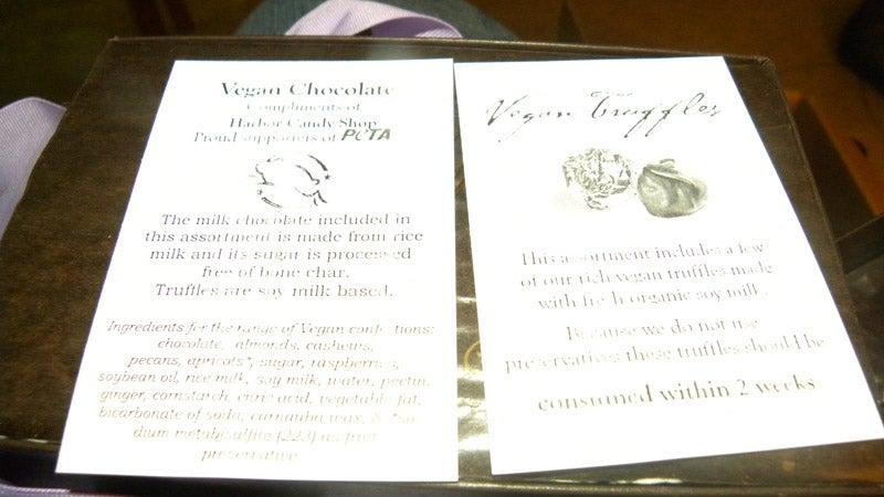 PETA Sends Me Vegan Chocolates For Not Kicking My Cats