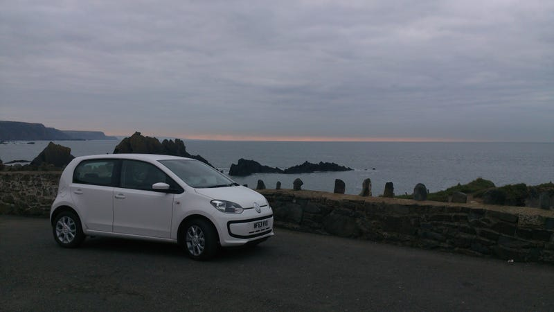 The Volkswagen Up! as reviewed by a guy who borrowed one.