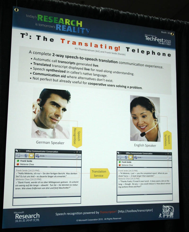Microsoft's Translating Telephone: The Realtime Translator We Assumed We'd Have By Now