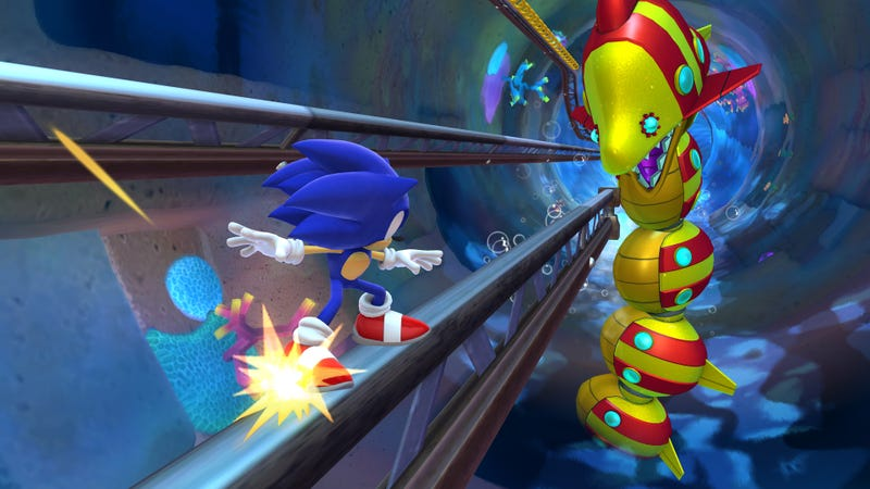 Whoever Is Taking Screenshots Of The Next Sonic Game Deserves a Raise