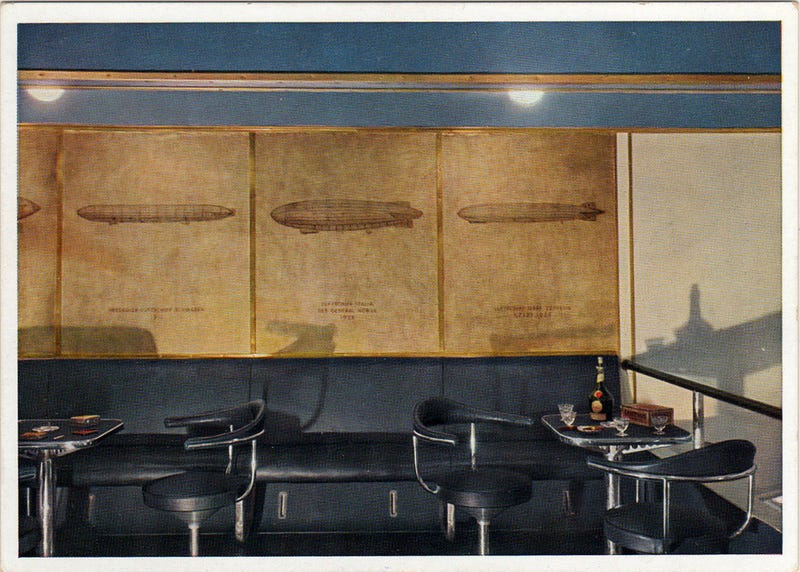 The Hindenburg Had a Smoking Room. Yes, That Hindenburg.
