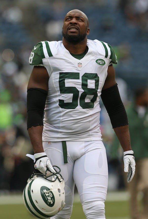 Jets LB Bryan Thomas Was Charged With Assaulting His Wife Back In October