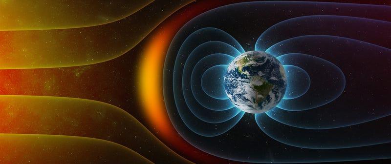 ¿Qué ocurrirá cuando cambie el campo magnético de la Tierra?