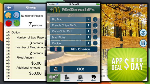 Daily App Deals: Free Check'n Burn Tracks Calories from Fast Foods