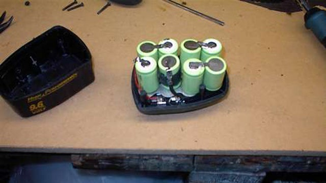 Replace Dead Cells in Power Tool Battery Packs
