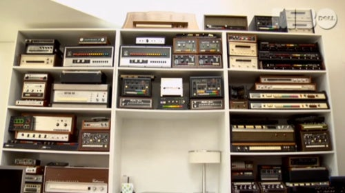 Moby Gives a Tour of His Incredible Drum Machine Collection