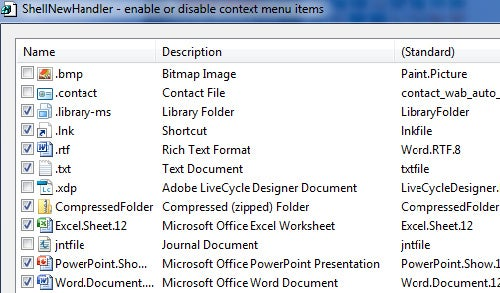 "ShellNewHandler Cleans Up Windows' ""New"" Context Menu"
