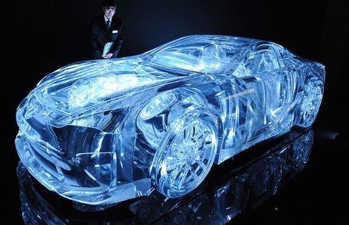 The All-Acrylic Lexus LFA Looks Cold As Ice