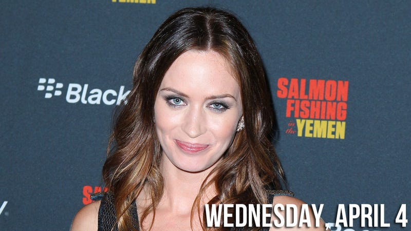 Merely Mentioning Her Shaved Bush Brings Emily Blunt To Tears