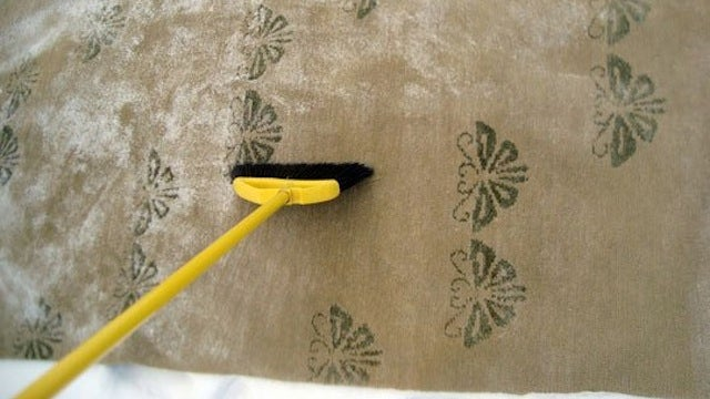 Clean a Rug with Nothing but Snow and Freezing Temperatures