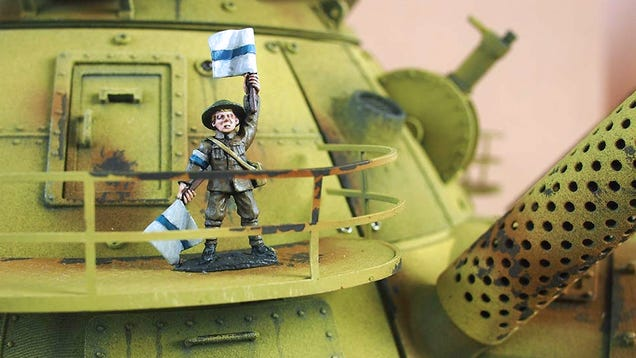 The Only Way To Describe This 3D-Printed Mechanized Toy Tank Is Amazing