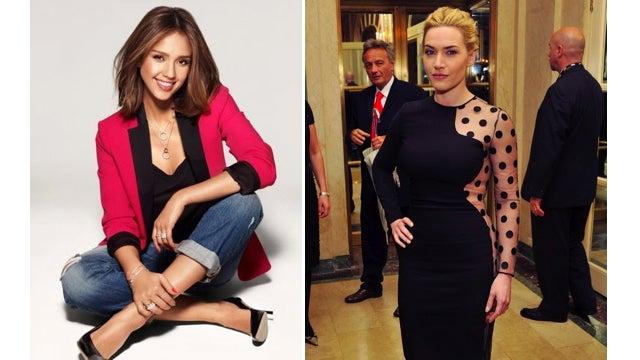 Jessica Alba And Kate Winslet Score Fashion Campaigns
