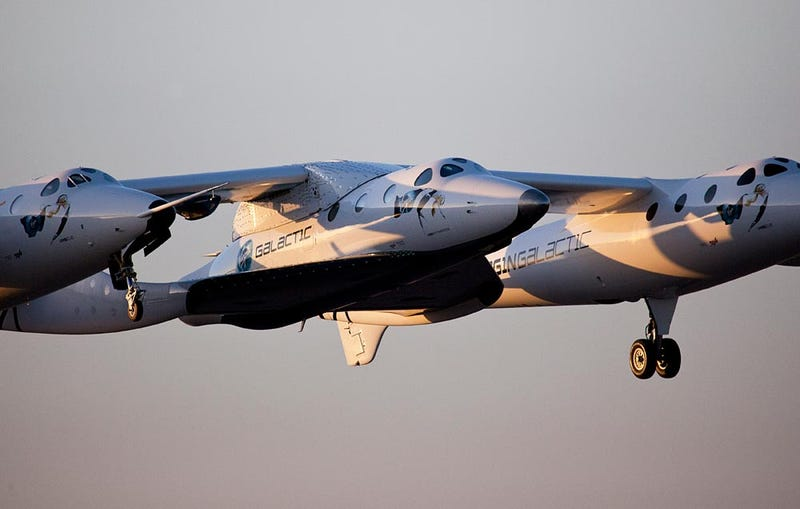 Admire Virgin Galactic's Enterprise Airborne for the First Time